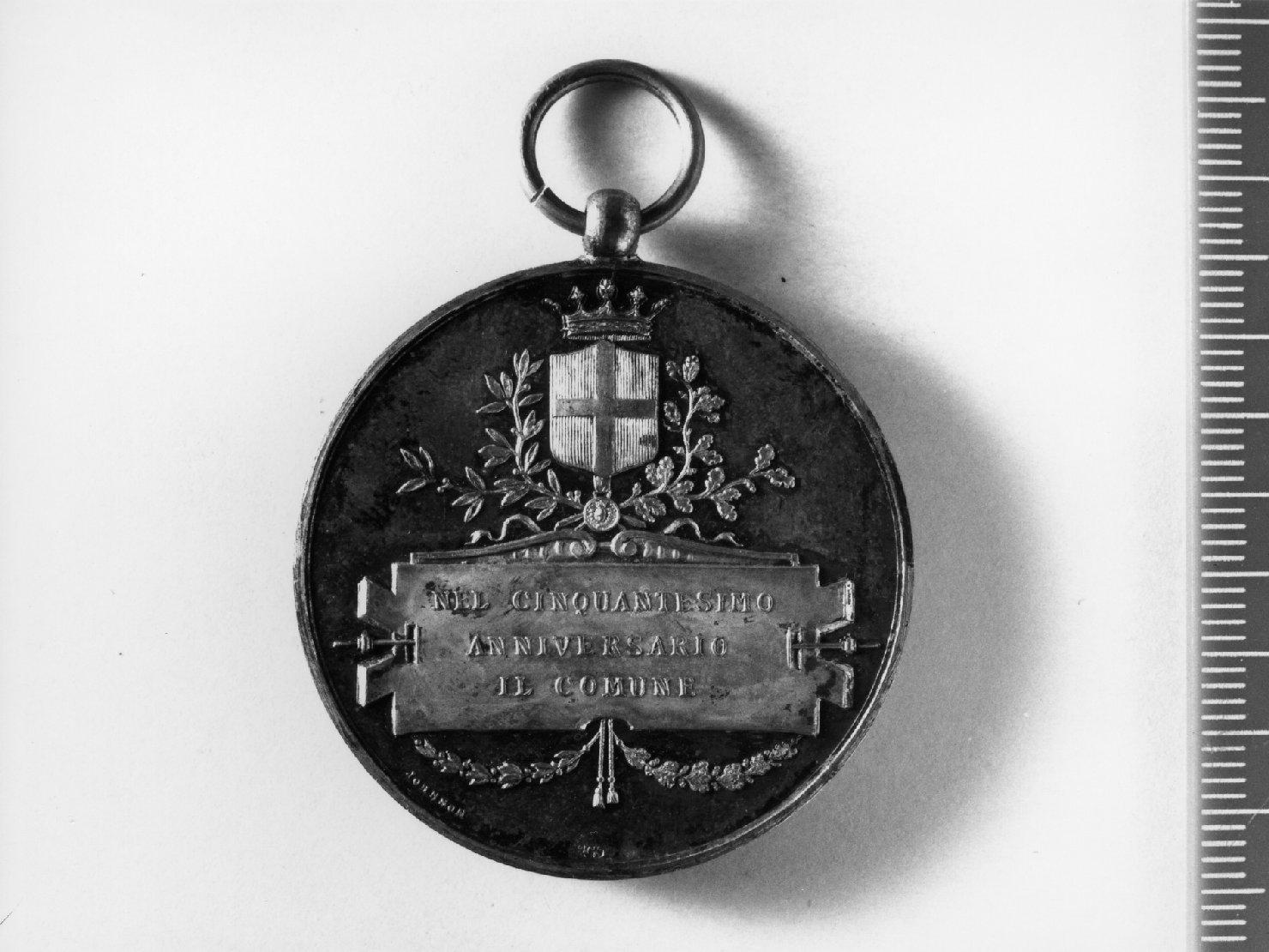 medaglia di Johnson Stefano (sec. XIX)