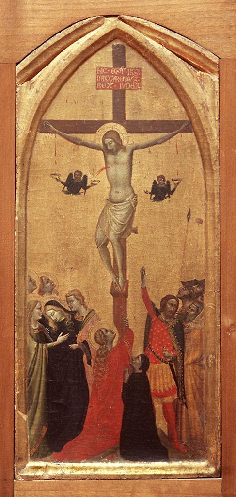 crocifissione di Cristo (dipinto) di Daddi Bernardo (secondo quarto sec. XIV)