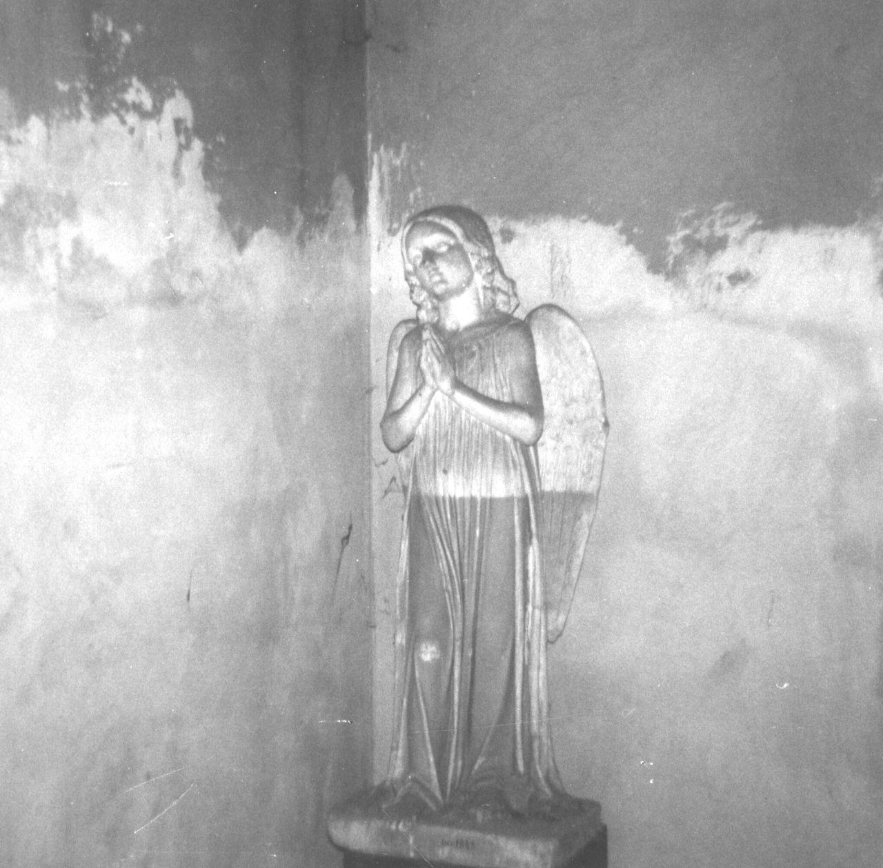 angelo in preghiera (statua) di Bartolini Lorenzo (sec. XIX)