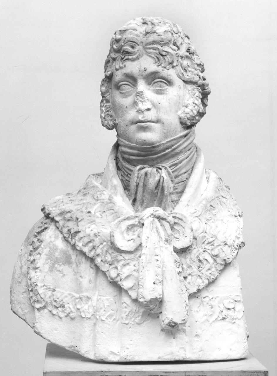 busto ritratto maschile (busto) di Bartolini Lorenzo (prima metà sec. XIX)