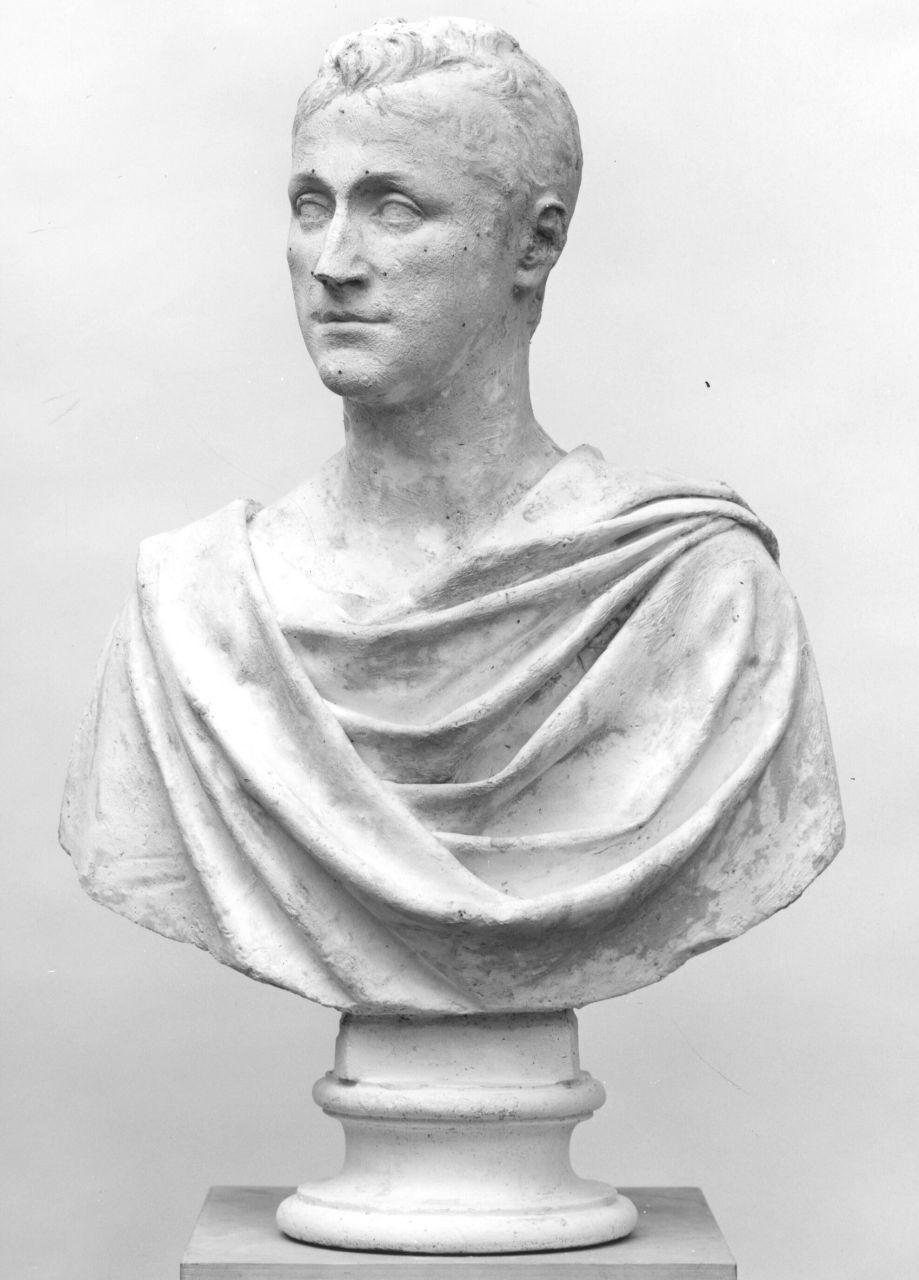 busto ritratto di Frederick William Hervey I marchese di Bristol (busto) di Bartolini Lorenzo (sec. XIX)