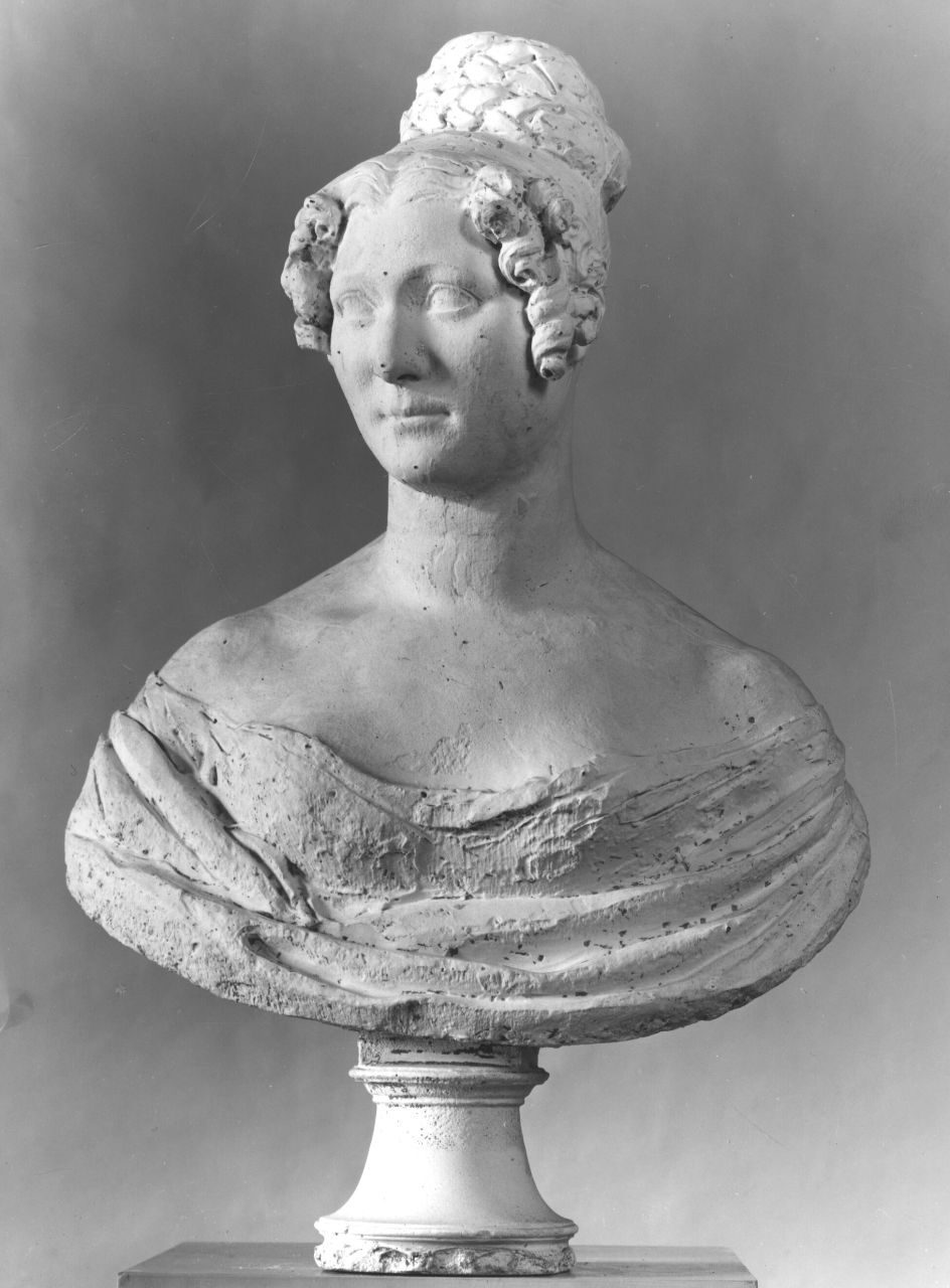 busto ritratto di Antonietta Francesca Costanza Caillard Peñalver (busto) di Bartolini Lorenzo (prima metà sec. XIX)