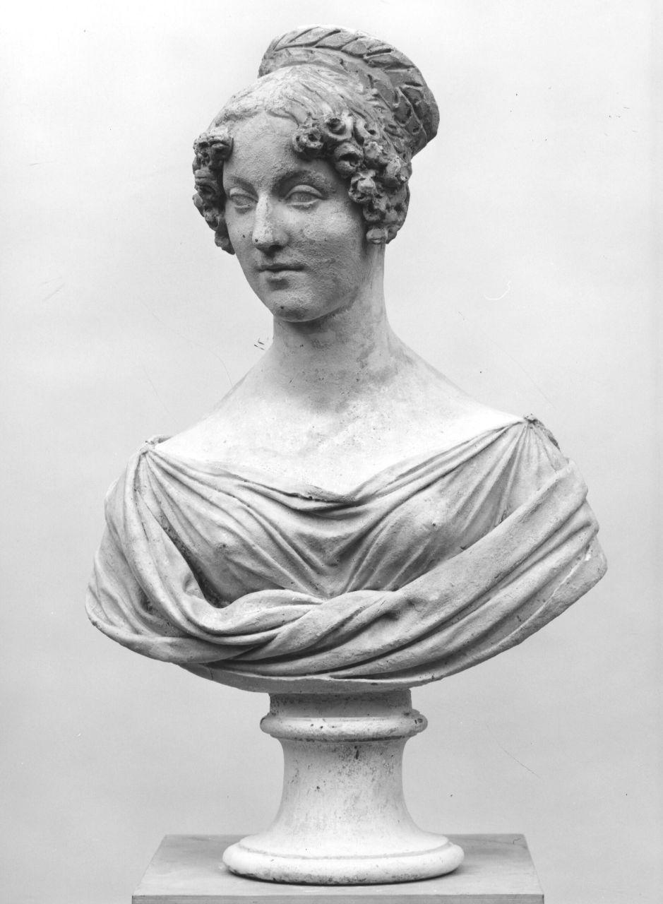 busto ritratto di donna (busto) di Bartolini Lorenzo (prima metà sec. XIX)