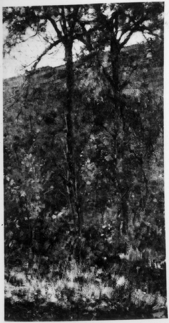 Boscaglia, paesaggio (dipinto) di Cannicci Niccolò (sec. XIX)
