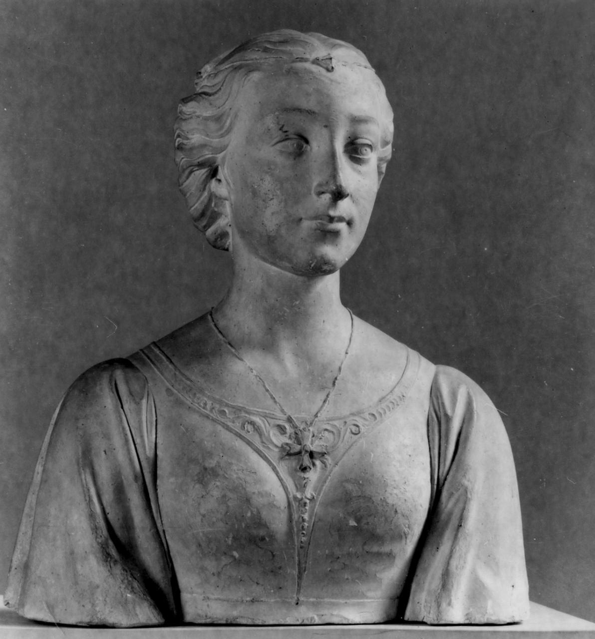 busto di giovane donna (scultura) di Bastianini Giovanni (sec. XIX)