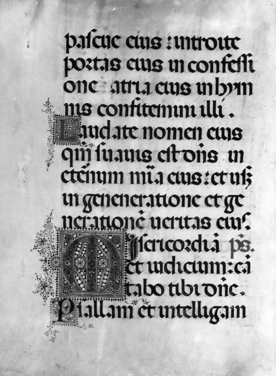 miniatura - ambito fiorentino (sec. XVI)