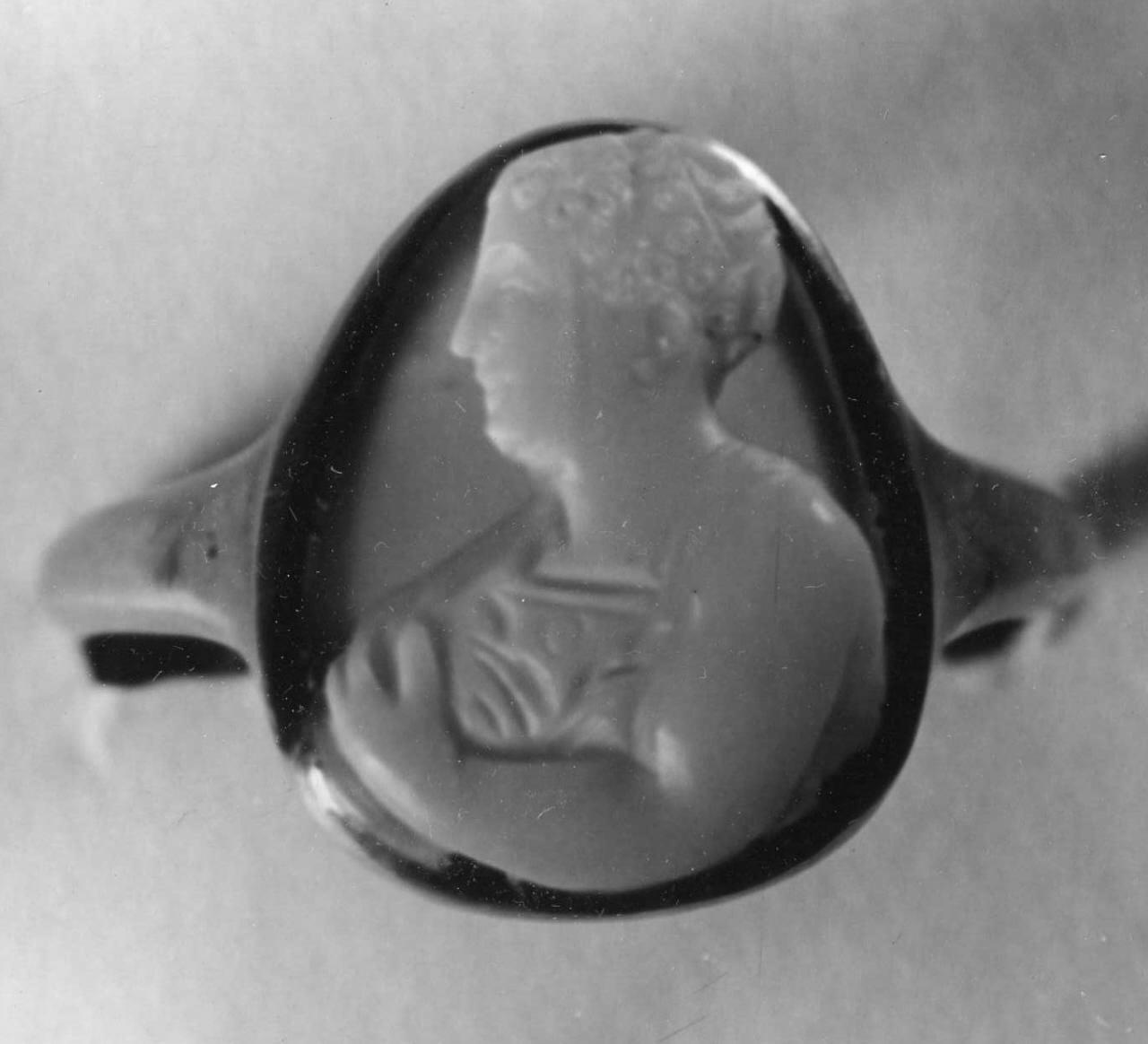 busto femminile (cammeo) - bottega italiana (fine/ inizio secc. XVI/ XVII)