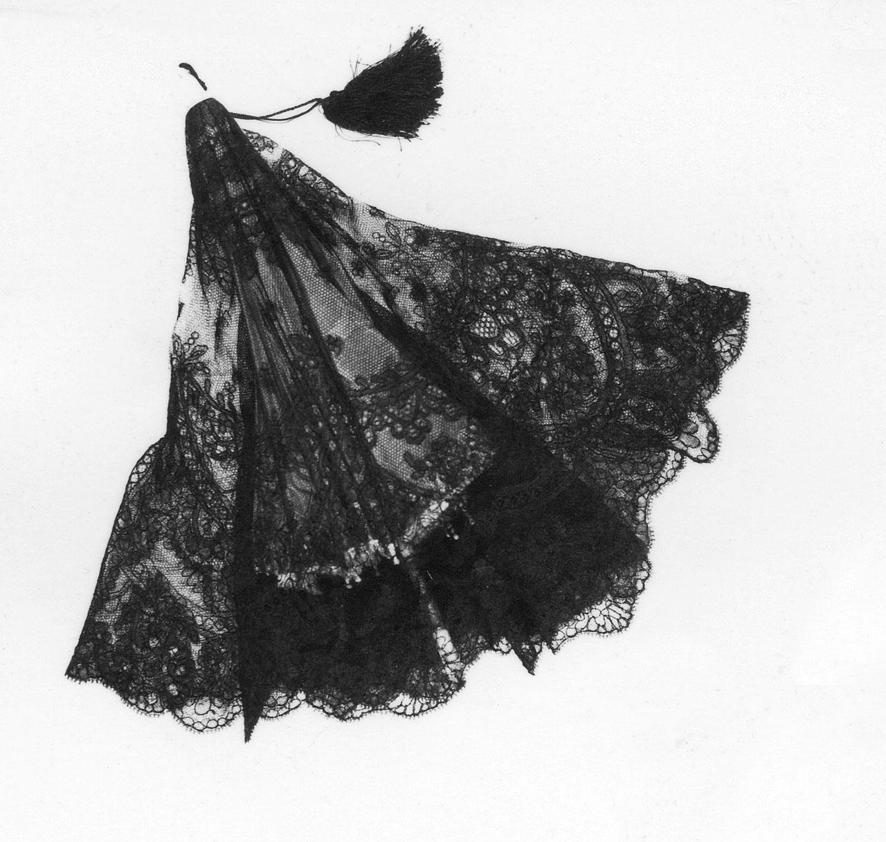 ombrellino - manifattura di Chantilly (sec. XIX)