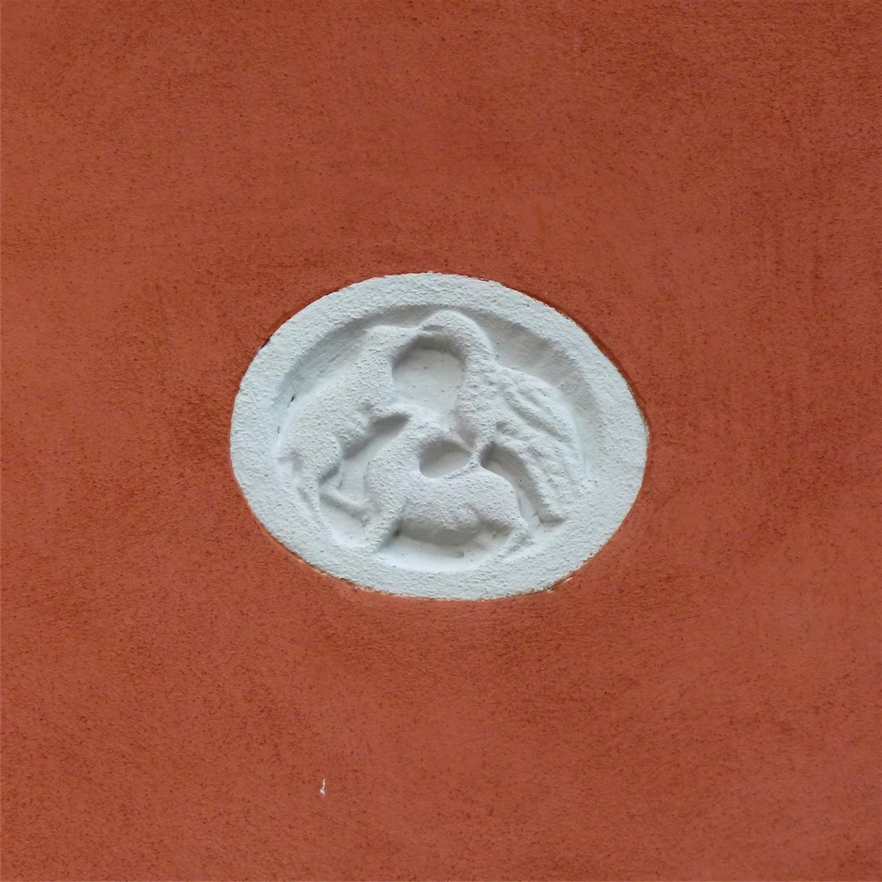 animali e uccelli (formella, pendant) - produzione veneziana (sec. XX)