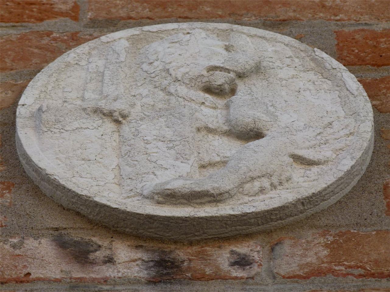 simbolo di San Marco: leone (rilievo, opera isolata) - produzione veneziana (sec. XX)