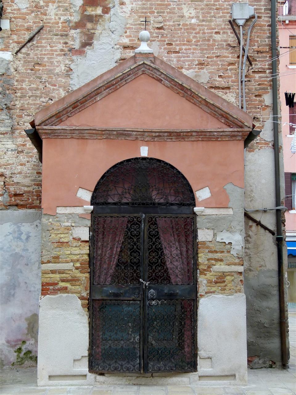 Madonna della Neve (tabernacolo, opera isolata) - produzione veneziana (secondo quarto sec. XIX)