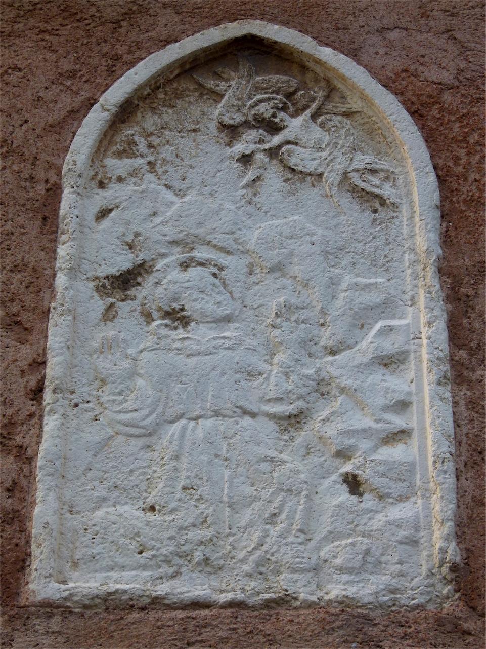 personaggio sacro (rilievo, opera isolata) - produzione veneziana (sec. XVI)