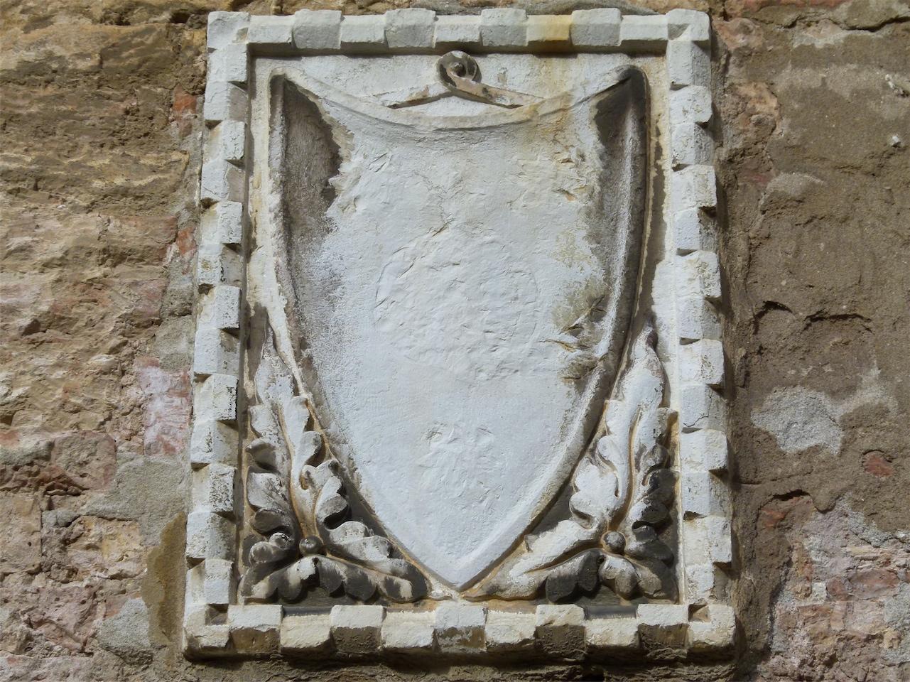 stemma gentilizio (rilievo, opera isolata) - ambito veneziano (sec. XIV)