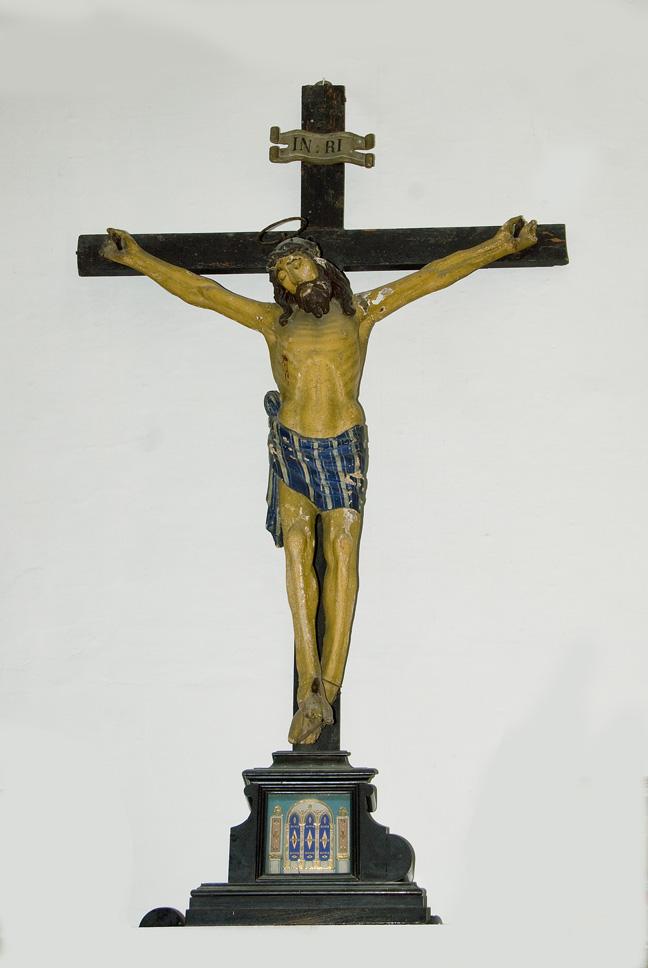 crocifisso, elemento d'insieme - ambito veneto (prima meta' XIX)