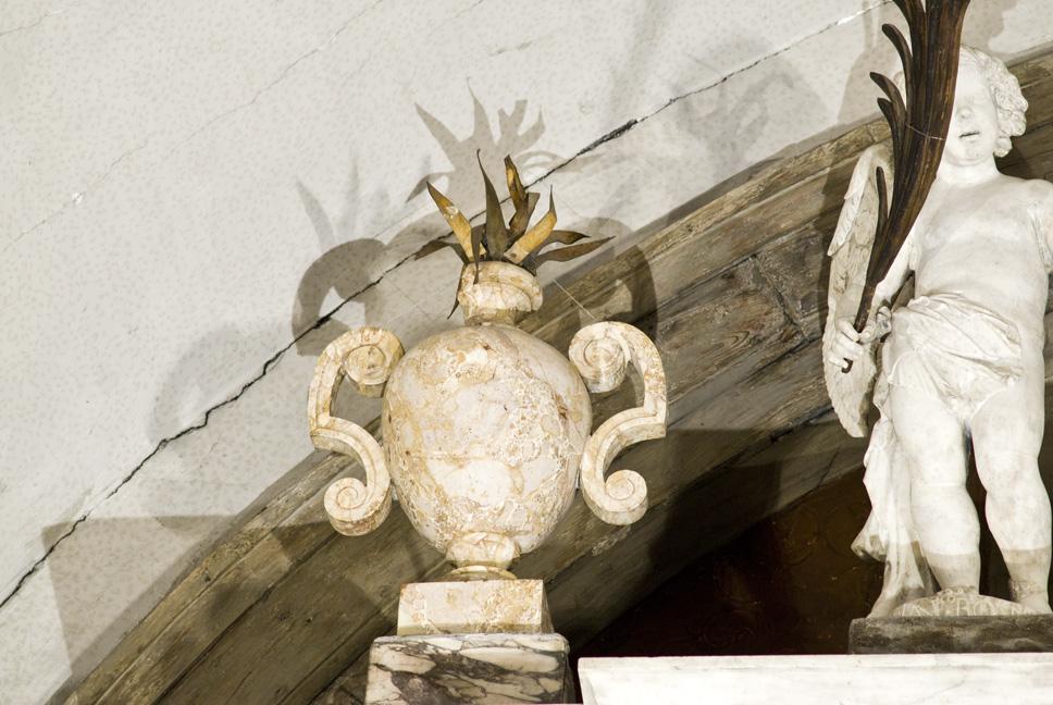 vaso, coppia di Rossi Domenico, Bonanni Francesco (attribuito) (primo quarto XVIII)