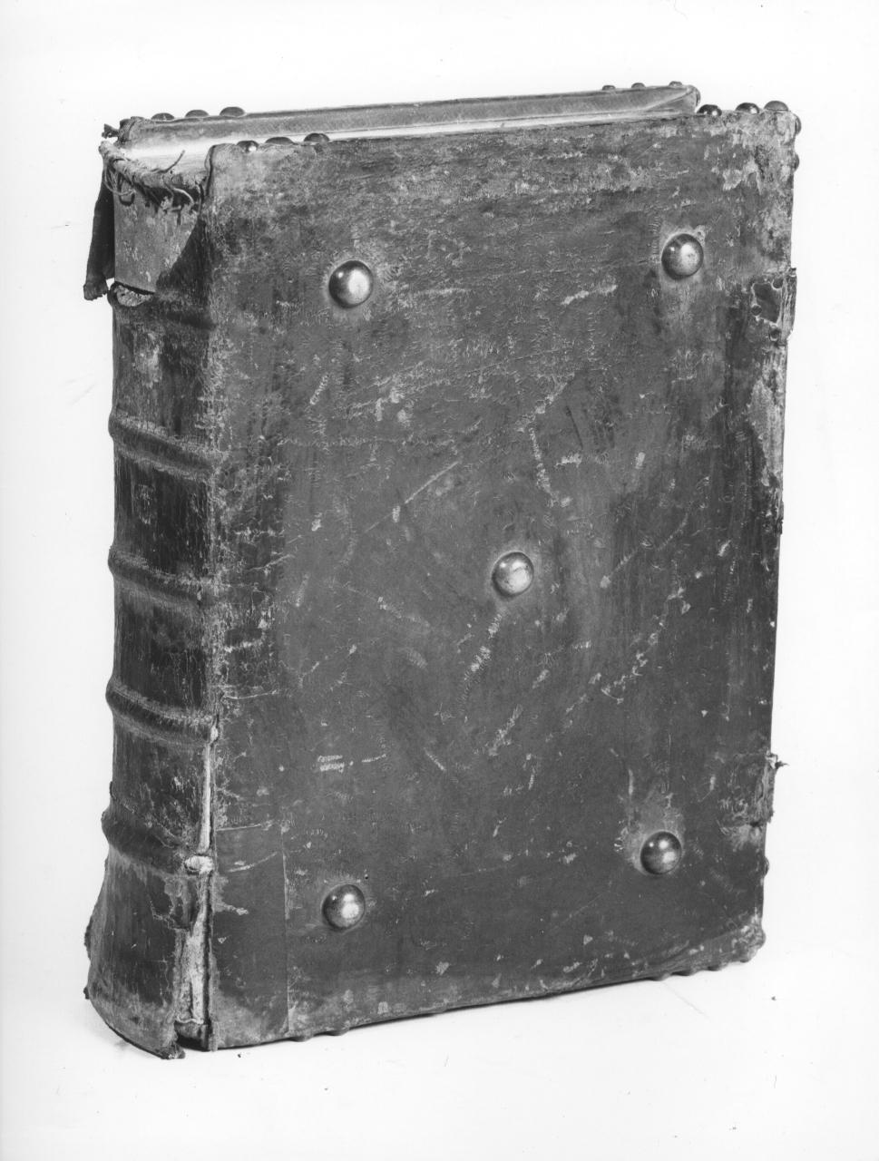 coperta di libro liturgico - manifattura fiorentina (metà sec. XVIII)