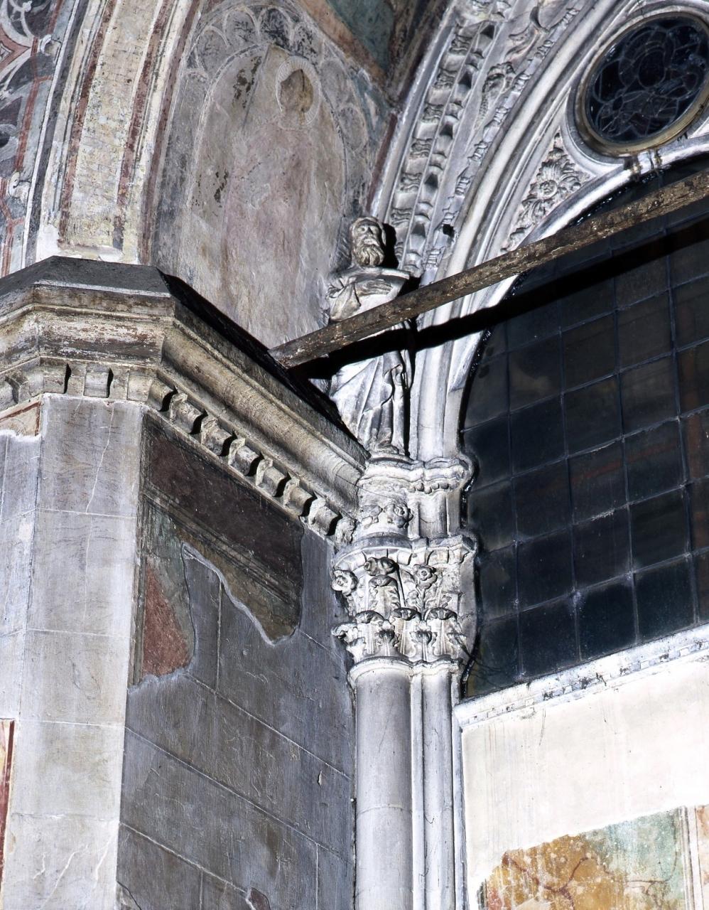 profeta (statua) di Talenti Simone (attribuito) (sec. XIV)