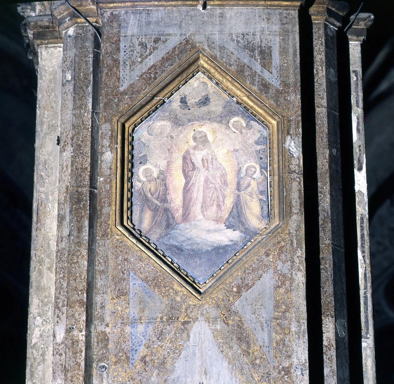 San Bartolomeo (dipinto murale staccato) di Bonsi Giovanni detto Giovanni da Firenze (sec. XIV)