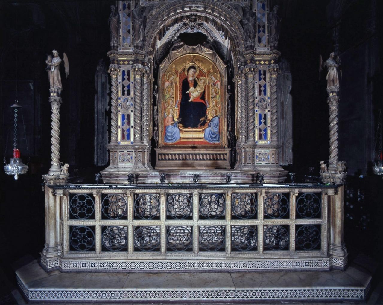 storie della vita della Madonna (tempietto) di Andrea di Cione detto Andrea Orcagna (e aiuti) (sec. XIV)