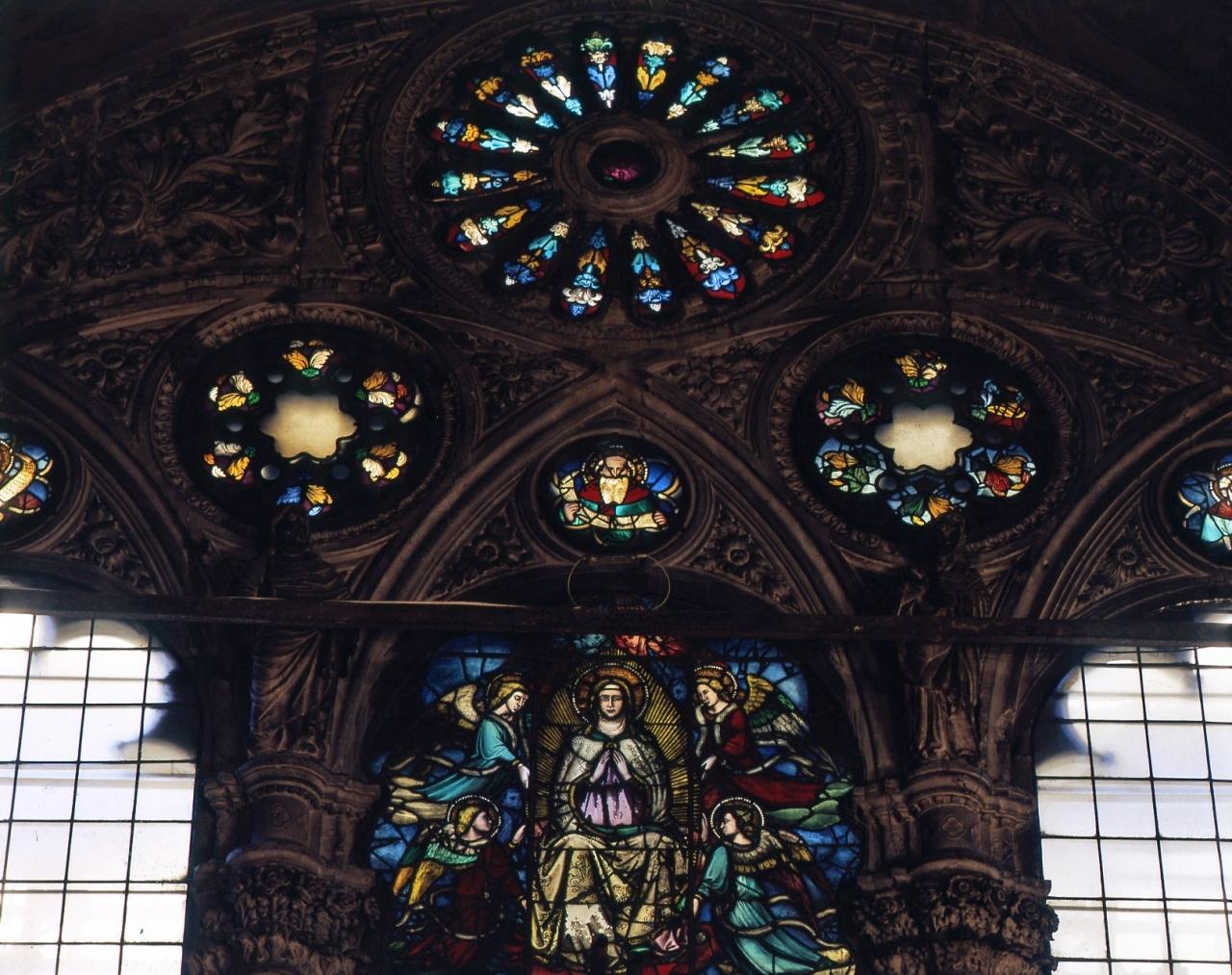 profeta (vetrata) - bottega fiorentina (fine/ inizio secc. XIV/ XV)