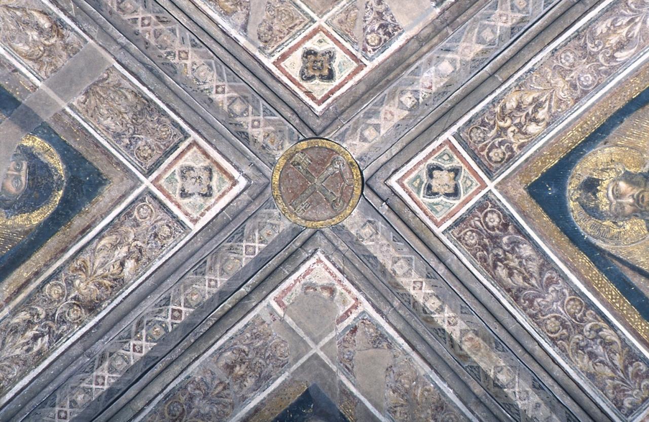 stemma (chiave di volta) - ambito fiorentino (sec. XIV)