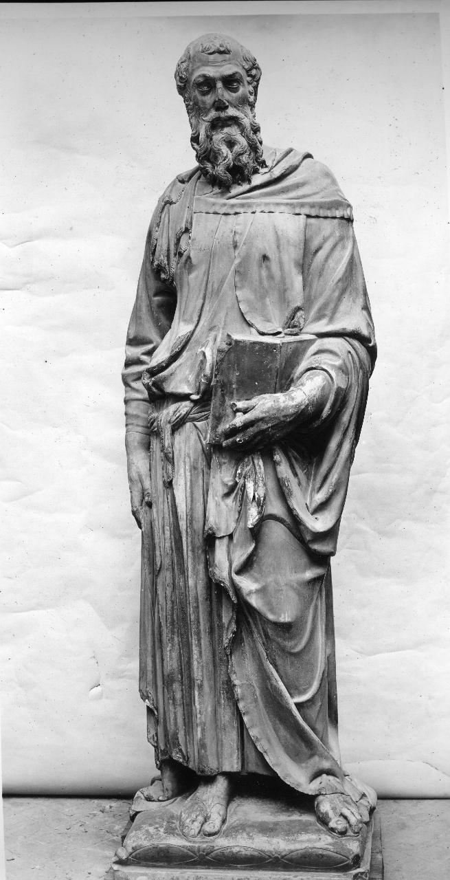 San Marco Evangelista (statua) di Bardi Donato detto Donatello (attribuito) (primo quarto sec. XV)