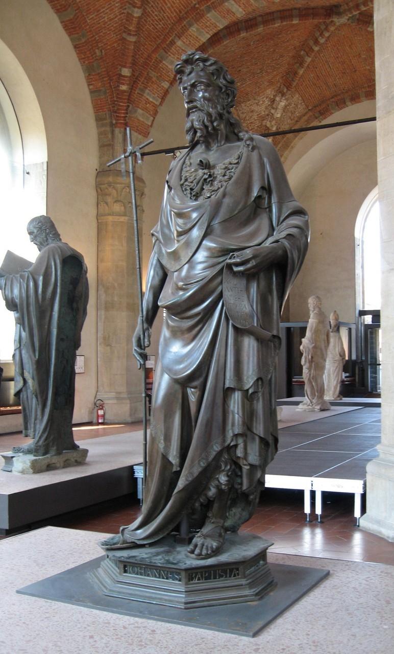 San Giovanni Battista (statua) di Ghiberti Lorenzo (attribuito) (primo quarto sec. XV)