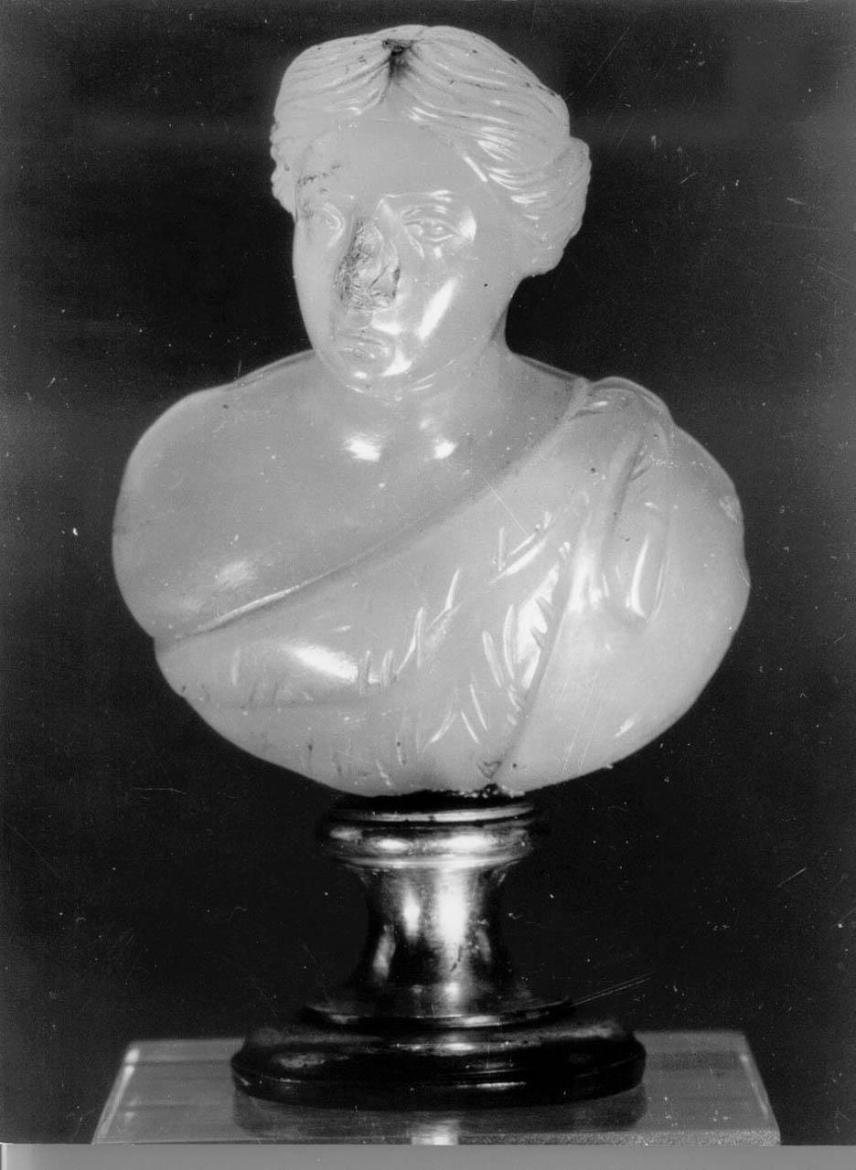 busto femminile (scultura) - bottega italiana, arte romana (sec. II, sec. XVIII)