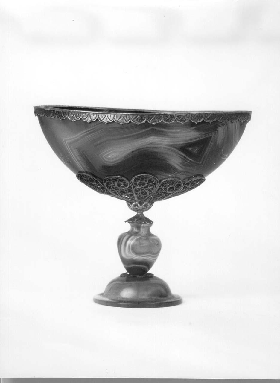 coppa - bottega italiana (fine/ inizio secc. XVII/ XVIII)
