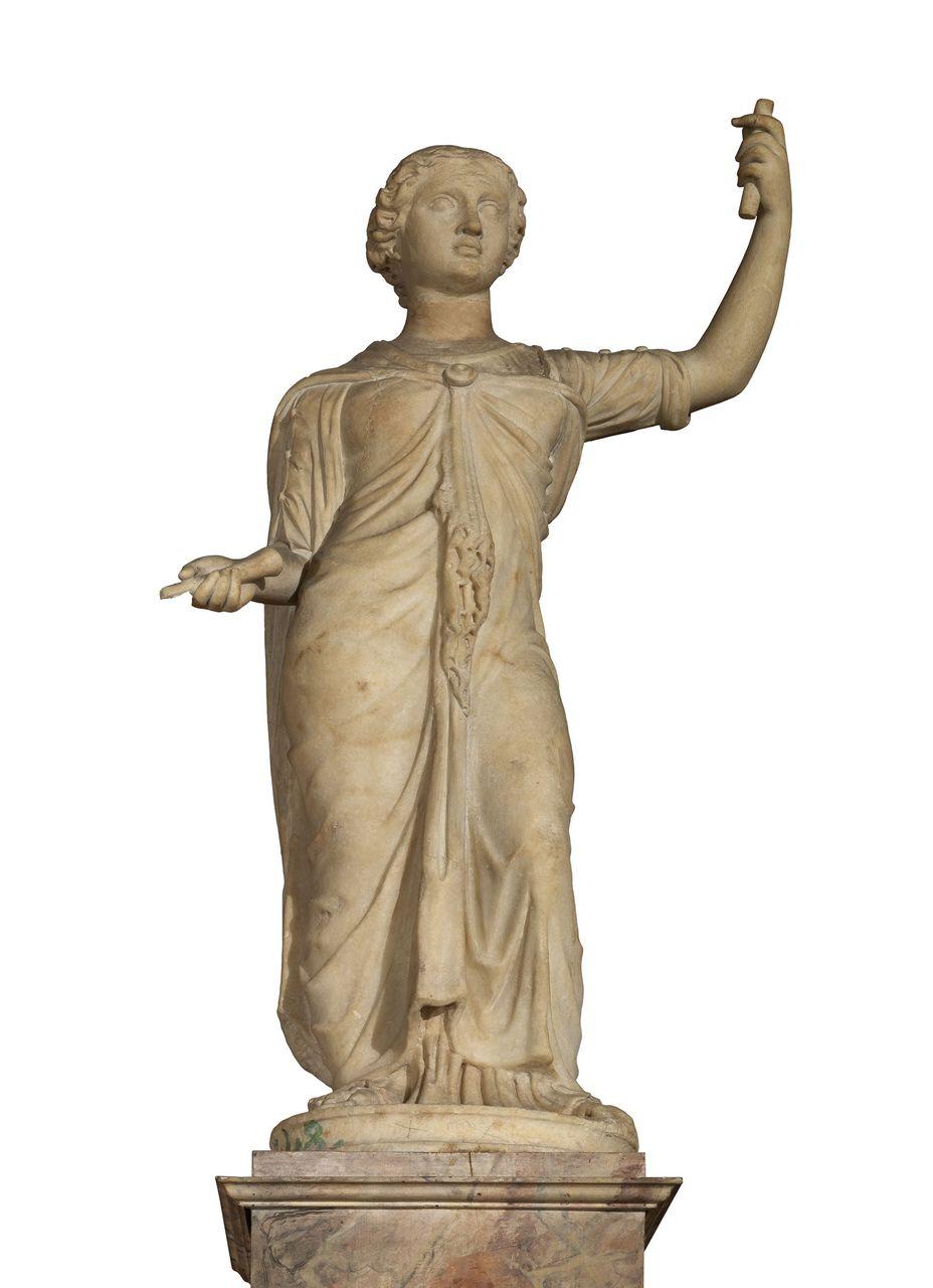 Iside (scultura) - ambito ellenistico, ambito fiorentino (?) (seconda metà, seconda metà sec. III, sec. XVI)