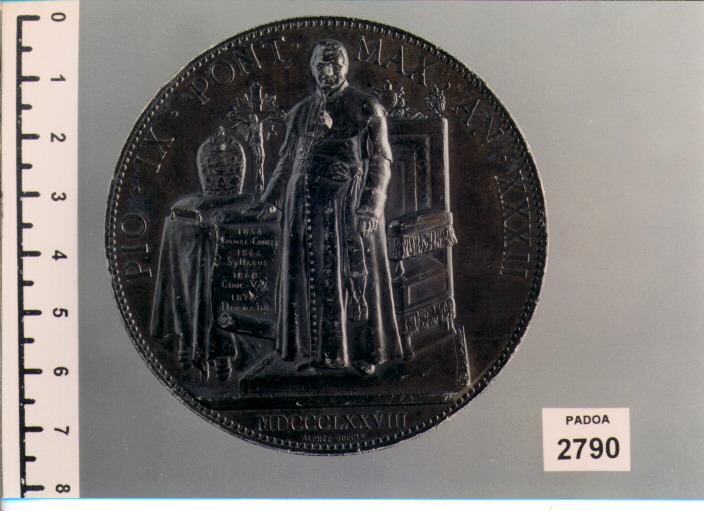 MEDAGLIA di Dubois Alphée (SEC. XIX D.C)