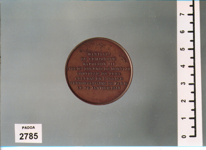 MEDAGLIA di DUBOIS ALPHEE ? (SEC. XIX D.C)