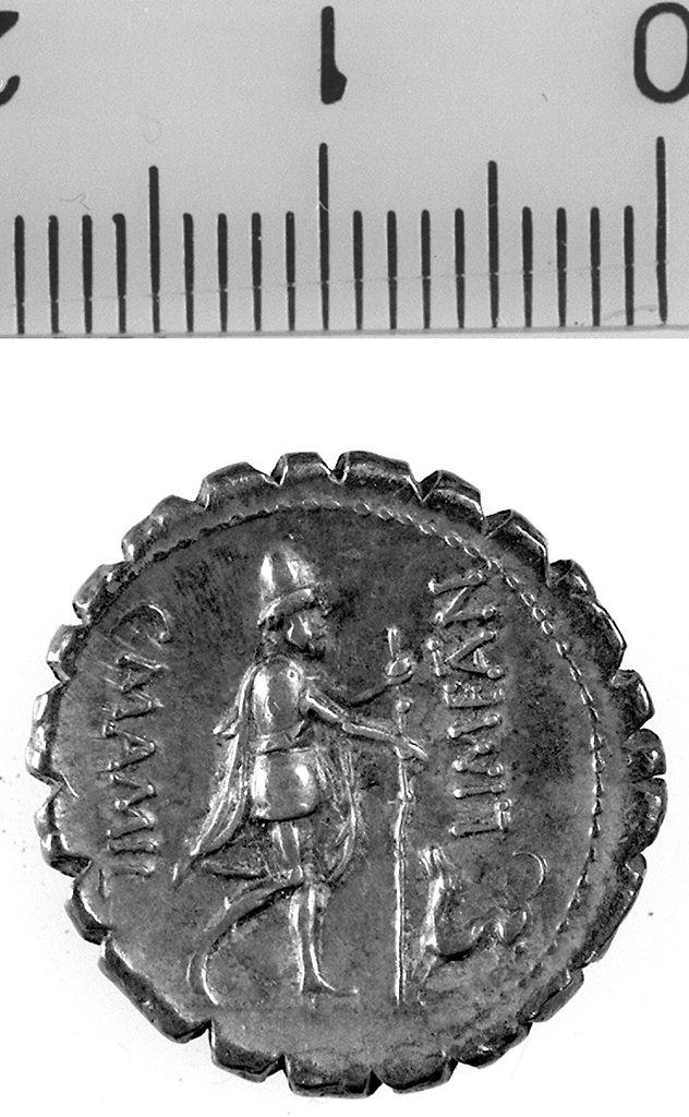 denario serrato (I a. C)