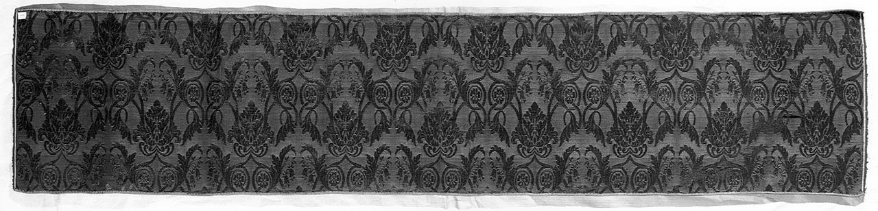 motivi decorativi vegetali (tessuto) - manifattura italiana (prima metà sec. XIX)