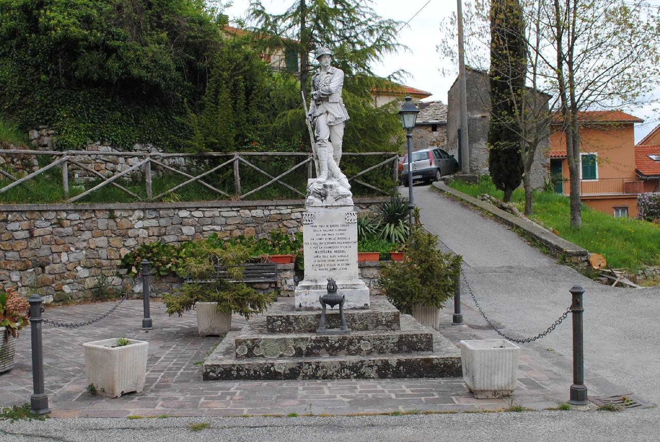 figura di soldato: fante (monumento ai caduti - a cippo) - ambito italiano (XX)