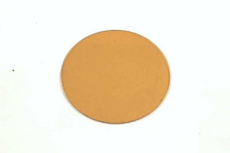 filtro fotografico, di contrasto, giallo scuro - manifattura (sec. XX, metà)