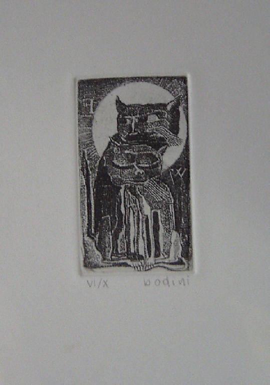 Gatti, Gatti (stampa) di Bodini Floriano, Bodini Floriano (sec. XX)