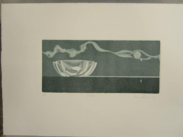 Soggetto astratto (stampa a colori) di Prevosti Riccardo, Prevosti Riccardo (sec. XX)