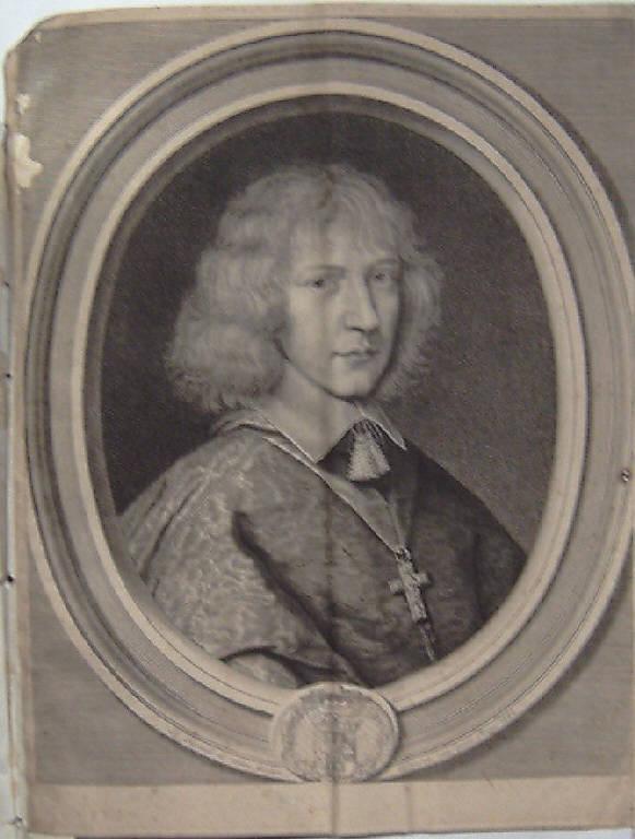 Ritratto di Enrico Savoia arcivescovo (stampa) di Nanteuil Robert, Nanteuil Robert (metà sec. XVII)