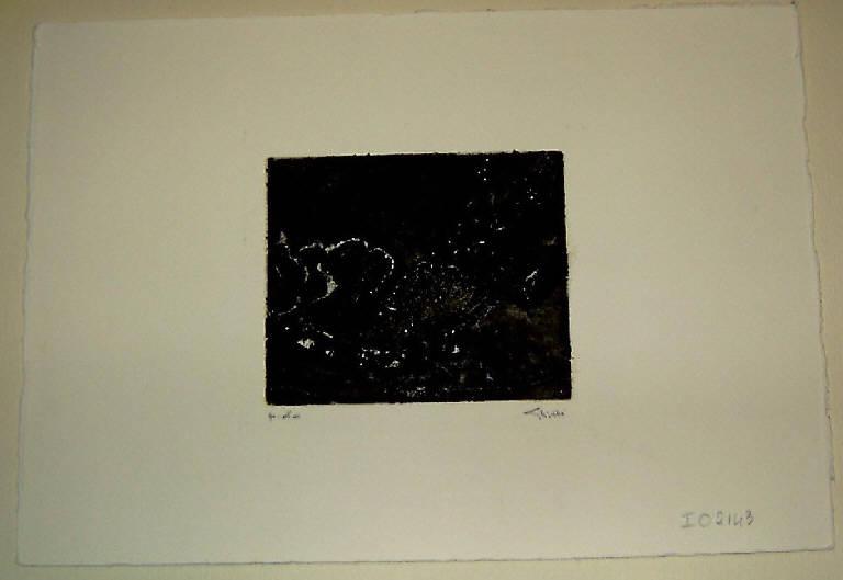 Soggetto astratto (stampa) di Ghitti Franca, Ghitti Franca (fine sec. XX)