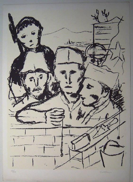 Prigionieri dei campi di sterminio (stampa) di Levi Carlo, Levi Carlo (sec. XX)