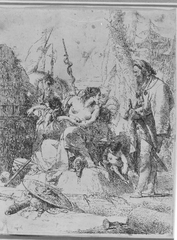 Capriccio (Stampa, serie) di Tiepolo Giovanni Battista, Tiepolo Giovanni Battista (sec. XVIII)