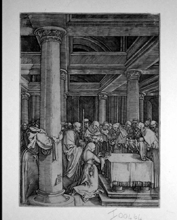 Storie della vita di Maria Vergine (stampa, serie) di Raimondi Marcantonio, Dürer Albrecht (sec. XVI)