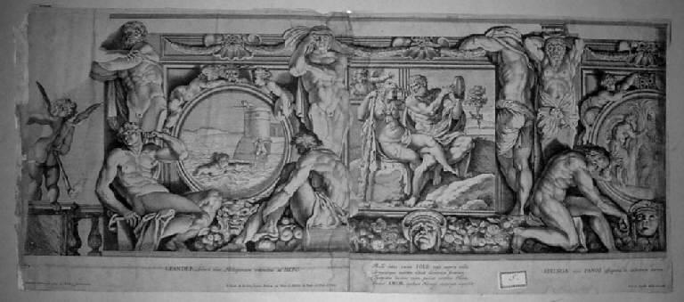 stampa, serie di Aquila Pietro, Aquila Pietro, Carracci Annibale (sec. XVII)