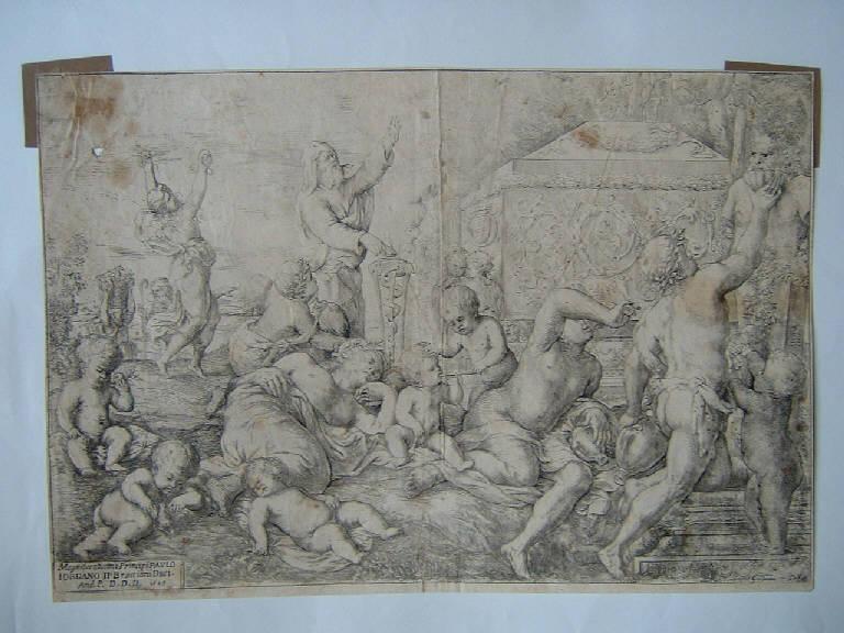 Baccanale (Stampa, serie) di Podestà Giovanni Andrea, Podestà Giovanni Andrea (sec. XVII)