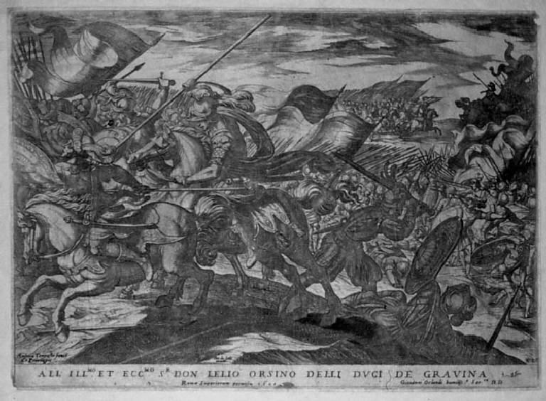 Battaglia (stampa, serie) di Tempesta Antonio, Tempesta Antonio (sec. XVII)