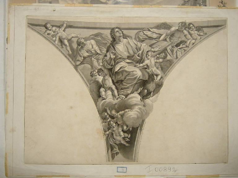 stampa, serie di Lanfranco Giovanni (sec. XVII)