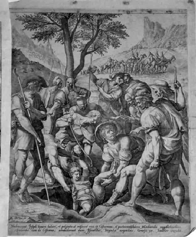 stampa, serie di Sadeler Jan il Vecchio, Sadeler Aegidius II, Sadeler Raphael il Vecchio, Vos Marten de (sec. XVI)