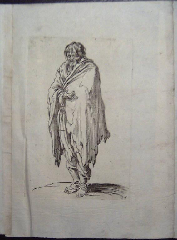 Mendicanti (stampa, serie) di Callot Jacques (sec. XVII)