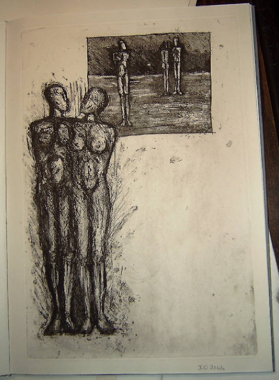 Soggetto astratto (stampa, serie) di Wahl Johanna, Wahl Johanna (fine sec. XX)